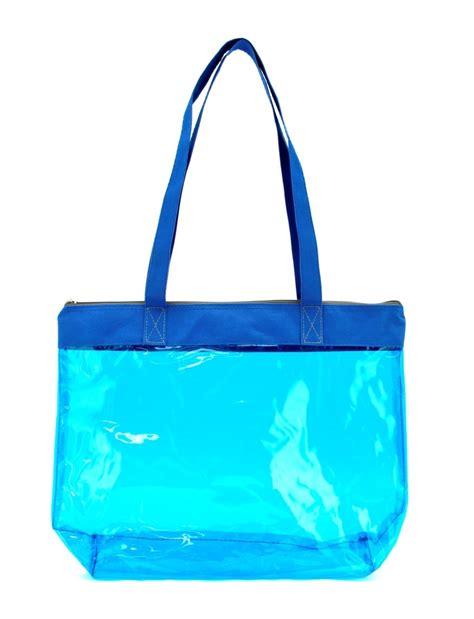 Pvc Tote Bag pvc colorful clear tote bag