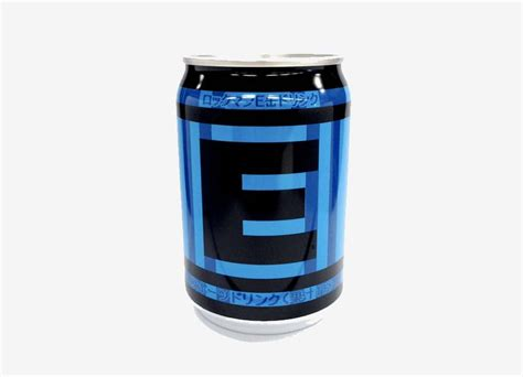e tank energy drink capcom releases mega inspired energy drink supposedly