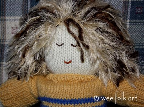 wee folk knit doll waldorf meets the muppets knit doll sweater