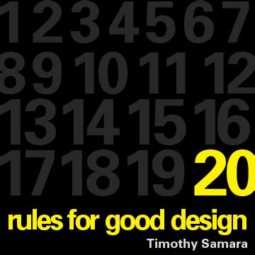 book layout design rules book layout timothy samara s 20 rules of good design on