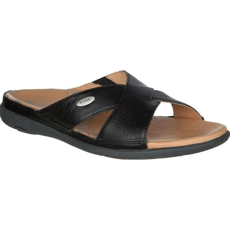 cheap sandals for womens acorn prima cross slide sandal s up to 70