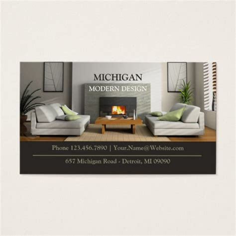 furniture business cards templates furniture store business card zazzle