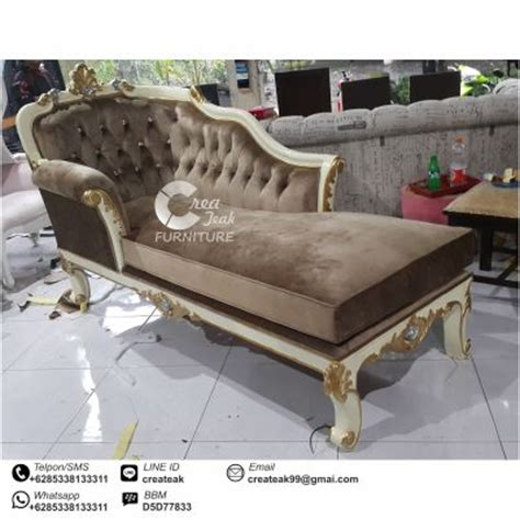 Kursi Tunggu Bekas kursi santai ukir mewah createak furniture createak furniture