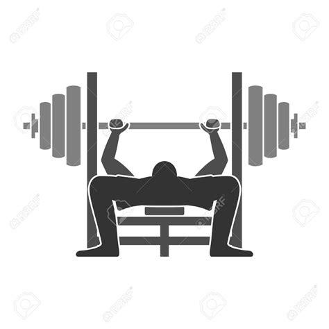 weight of the bench press bar bench press bar clipart