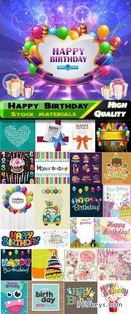 happy birthday template design 25 eps happy birthday template design in vector from stock