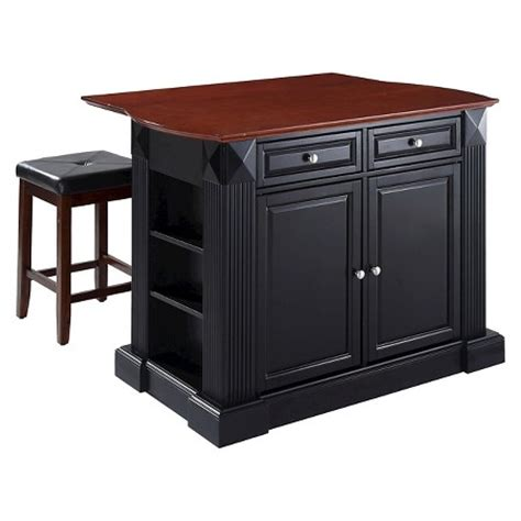 kitchen island at target drop leaf breakfast bar top kitchen island with stools