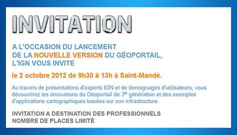 Exemple De Lettre D Invitation Pour Salon Modele Invitation Professionnelle Gratuit Document