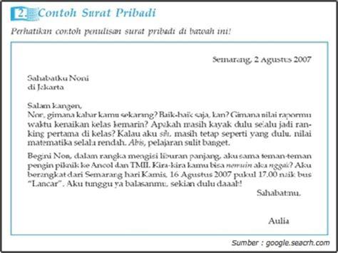 contoh surat pribadi untuk guru wisata dan info sumbar