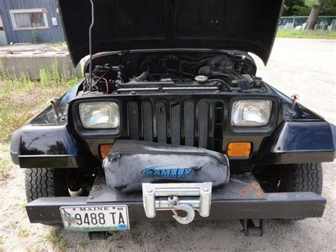 1993 jeep wrangler parts purchase used 1993 jeep wrangler great cond 5 speed