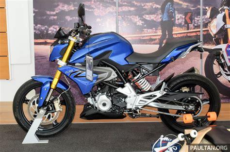 Motorrad G310r by 2016 Bmw Motorrad G310r Previewed In Malaysia Image 499571