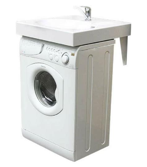 Exceptionnel Meuble Sous Lavabo Pas Cher #5: lavabo-gain-de-place-lave-linge.jpg
