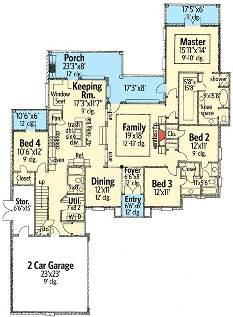 plan 56377sm 4 bed acadian house plan with bonus room house plans laundry rooms and the o jays plan 14127kb graceful and elegant 4 bed acadian house