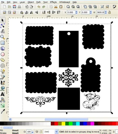 tutorial in inkscape how to use inkscape a free program to create an svg cut