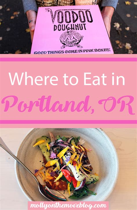 where to eat in portland or molly on the move