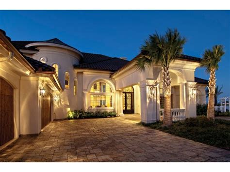 Mediterranean House Dream Home Source Layouts Pinterest Dreamhomesource House Plans