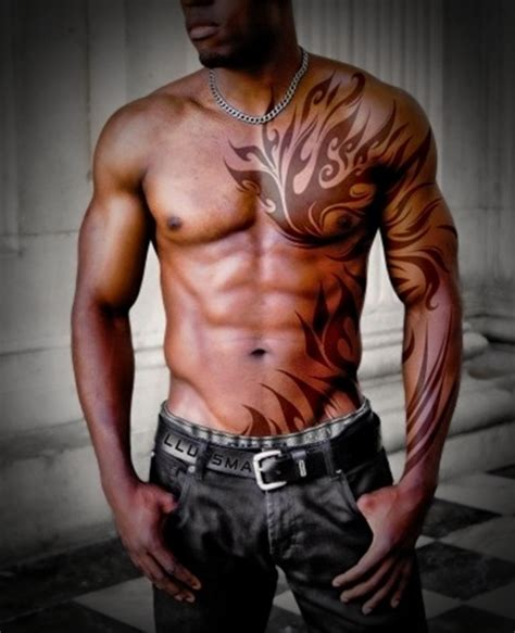 half body tribal tattoos 50 tribal tattoos for inspirationseek