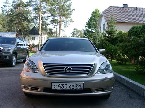 lexus ls430 used 2005 lexus ls430 photos 4300cc gasoline fr or rr