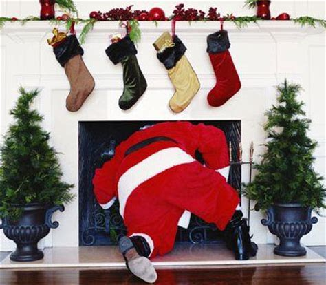 can santa really climb down the chimney howstuffworks