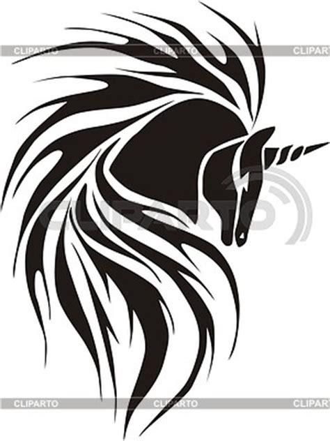 imagenes de unicornios tribales tatuajes im 225 genes vectoriales y clipart de alta calidad