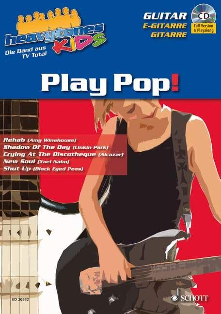 Paket Play heavytones play pop paket 187 play along mit cd