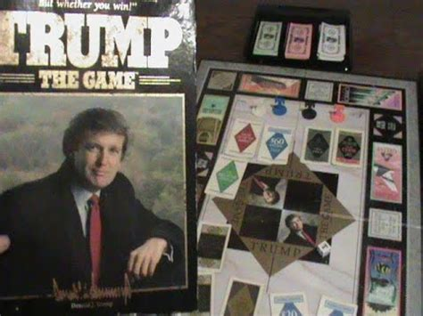 donald trump game trump the game donald trump board game made by milton