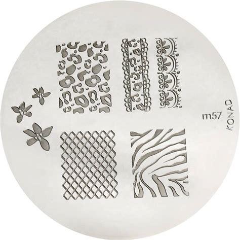 Dijamin Konad S06 Image Plate konad sting nail image plate m57 price in india buy konad sting nail image