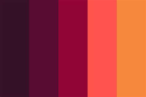 sexy color schemes sex appeal color palette