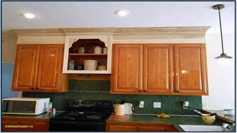 extend cabinets to ceiling extend kitchen cabinets to ceiling mediawallpaper