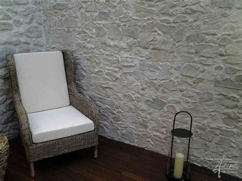 steinwände für innen streichen schlafzimmer