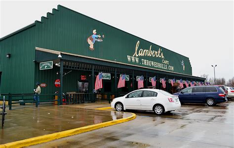 Home Of The Throwed Rolls by Lambert S Cafe Home Of Throwed Rolls 171 Cape Girardeau
