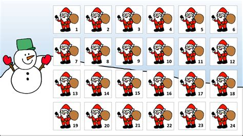make your own advent calendar template make your own class advent calendar tekhnologic