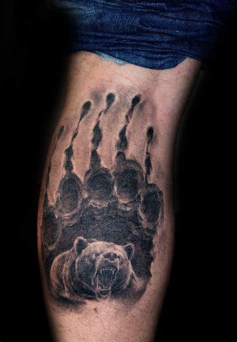 bear claw tattoo designs  men sharp ink ideas