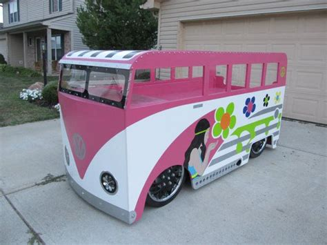 hippie van bed hippie chick vw bus twin bed by kidscreationsbeds on etsy
