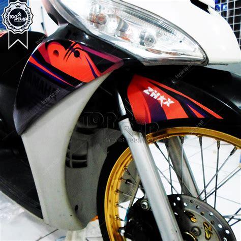 Modif Motor Mio Lama Merah by 102 Modif Stiker Vixion Lama Modifikasi Motor Vixion Terbaru