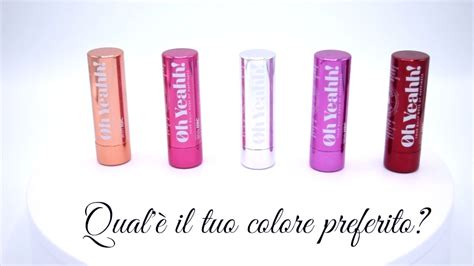 Lip Gloss Di Alfamart oh yeahh lip balm a base di felicit 224