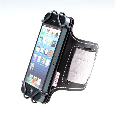 Sport Armband Smartphone 5 5 8 Inch tfy open sport armband wrist holder key holder for 4 inch to 5 5 inch cell phone open