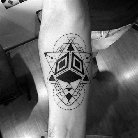 abstract tattoo designs for men 50 coolest small tattoos for manly mini design ideas
