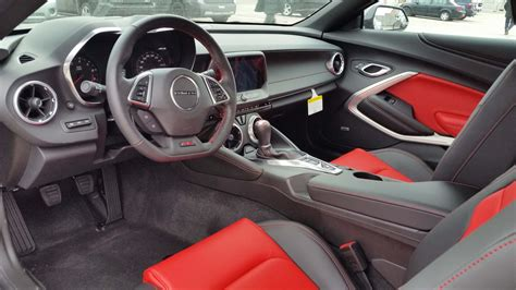 camaro upholstery the all new 2016 chevrolet camaro is here