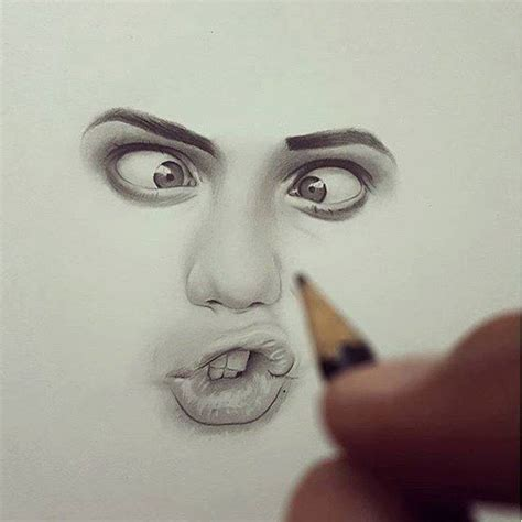 Drawing Realistic Faces by Realistic Drawing By Hisham