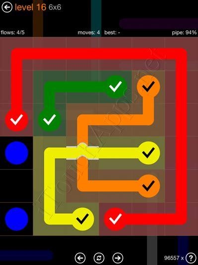coding level 6 solution flow bridges pack 6 x 6 level 16 solution