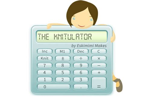 knitting calculator introducing the knitulator automatic increase and