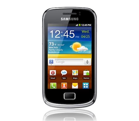 samsung galaxy mini 2 android smartphone announced