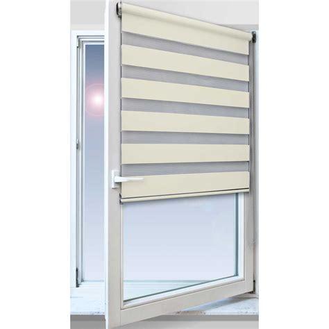 Fenster Mit Sichtschutz by Jalousie Doppelrollo Duo Rollo Fensterrollo Balkonrollo