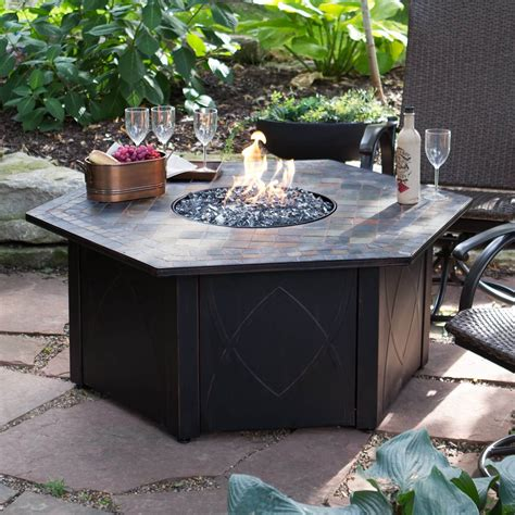 patio table with gas pit top 15 types of propane patio pits with table buying