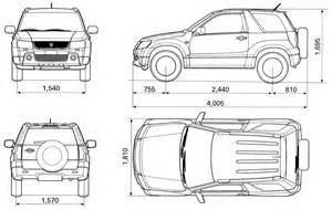 Suzuki Vitara Dimensions Index Of Blueprints Suzuki
