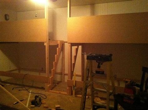 Diy Built In Bunk Beds Diy Built In Bunk Bed Inspiration Diy Cozy Home