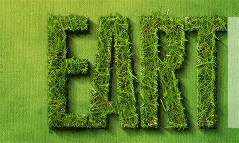 grass typography photoshop tutorial create a spectacular grass text effect in photoshop