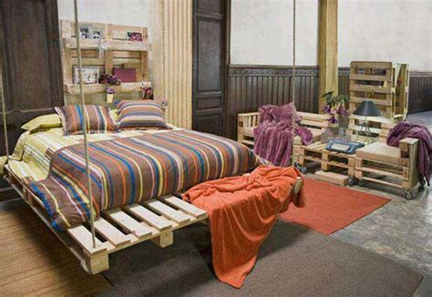 pallet bedroom furniture diy pallet furniture ideas 40 projects that you haven t seen