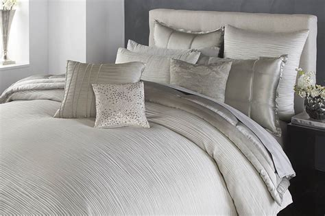donna karen bedding donna karan collection reflection silver