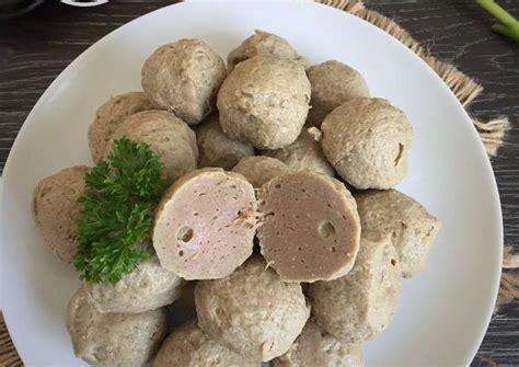 resep bakso sapi pakai blender oleh fitri sasmaya cookpad